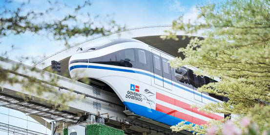 First cross-sea SkyRail rolls off production line