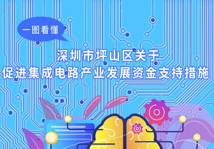 一图读懂   《深圳市坪山区集成电路产业发展资金支持措施》